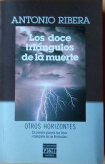 Portada LOS DOCE TRIANGULOS DE LA MUERTE - ANTONIO RIBERA - PLAZA Y JANES