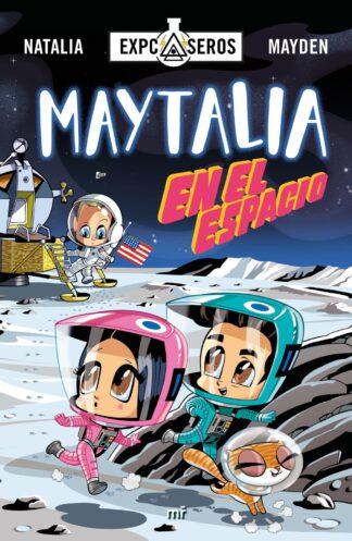 Portada MAYTALIA EN EL ESPACIO - NATALIA / MAYDEN - PLAZA Y JANES