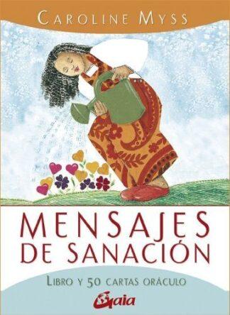 Portada MENSAJES DE SANACIÓN - CAROLINE MYSS - GAIA