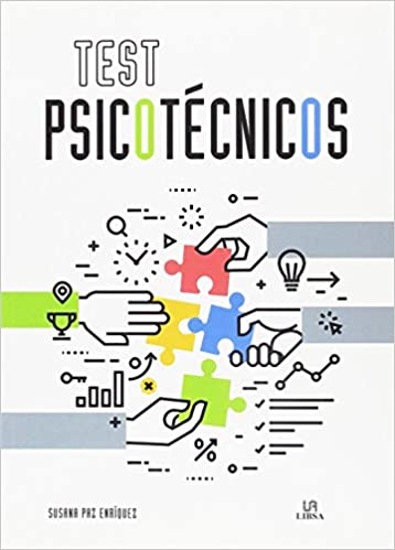 Portada TESTS PSICOTÉCNICOS - SUSANA PAZ ENRÍQUEZ / EQUIPO EDITORIAL - LIBSA