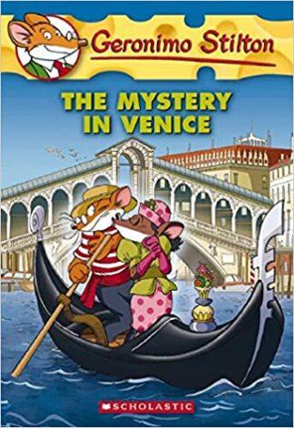 Portada THE MYSTERY IN VENICE - GERONIMO STILTON - SCHOLASTIC