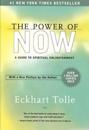 Portada THE POWER OF NOW - ECKHART TOLLE - YOGIIMPRESIONS