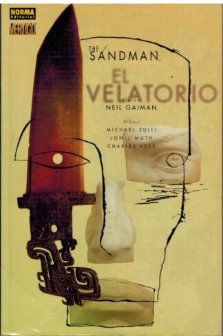 Portada THE SANDMAN. EL VELATORIO - NEIL GAIMAN - NORMA EDITORIAL