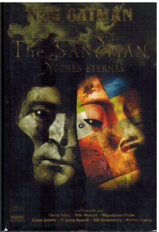 Portada THE SANDMAN. NOCHES ETERNAS - NEIL GAIMAN - NORMA EDITORIAL