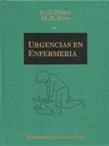 Portada URGENCIAS EN ENFERMERIA. TOMO I Y II - D.O. POTTER / M.B. ROSE - MCGRAWW HILL INTERAMERICANA