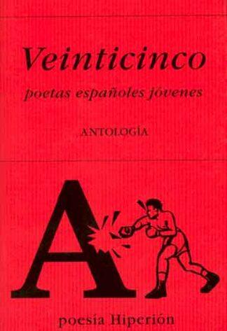 Portada VEINTICINCO POETAS ESPAÑOLES JOVENES. ANTOLOGIA - - - EDICIONES HIPERION