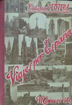 Portada VIAJE POR ESPAÑA - FEDERICO TORRES - MANUSCRITOS