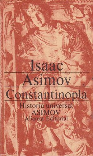Portada CONSTANTINOPLA - ISAAC ASIMOV - ALIANZA