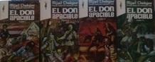Portada EL DON APACIBLE I  II  III  IV - MIJAIL SHOLOJOV - EDICIONES GP