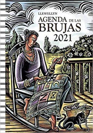 Portada 2021 AGENDA DE LAS BRUJAS - LLEWELLYN - OBELISCO
