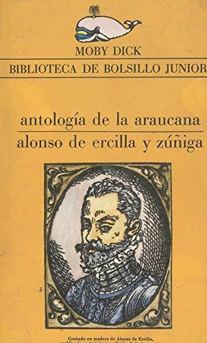 Portada ANTOLOGÍA DE LA ARAUCANA - ALONSO DE ERCILLA Y ZÚÑIGA - LA GAYA CIENCIA
