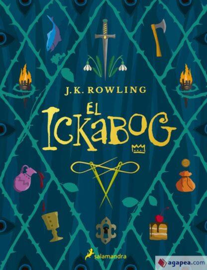 Portada EL ICKABOG - J. K. ROWLING - SALAMANDRA