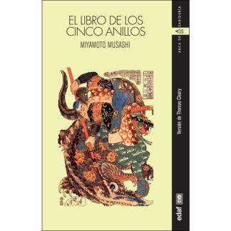 Portada EL LIBRO DE LOS CINCO ANILLOS - MIYAMOTO MUSASHI - EDAF
