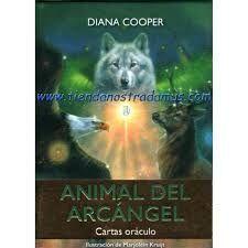 Portada EL ORACULO DEL ARCANGEL ANIMAL - DIANA COOPER - GUY TREDANIEL