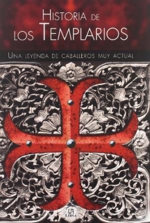 Portada HISTORIA DE LOS TEMPLARIOS - PASTORA BARAHONA - LIBSA