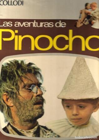 Portada LAS AVENTURAS DE PINOCHO - COLLODI - PAULINAS