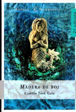Portada MADERA DE BOJ - CAMILO JOSE CELA - ESPASA CALPE