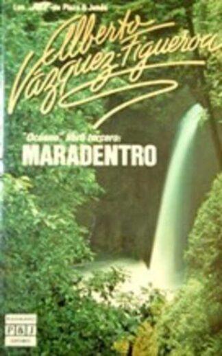 Portada MARADENTRO (OCEANO III) - ALBERTO VAZQUEZ-FIGUEROA - PLAZA Y JANES