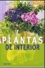 Portada PLANTAS DE INTERIOR - ANJA FLEHMIG / FRIEDRICH STRAUSS - EVEREST