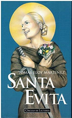 Portada SANTA EVITA - TOMÁS ELOY MARTÍNEZ - CIRCULO DE LECTORES