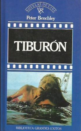 Portada TIBURON - PETER BENCHLEY - ORBIS