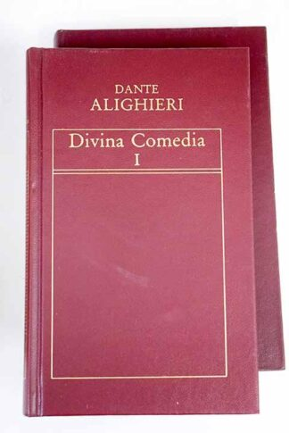 Portada DIVINA COMEDIA I / II - DANTE ALIGHIERI - ORBIS