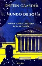 Portada EL MUNDO DE SOFIA - JOSTEIN GAARDER - SIRUELA