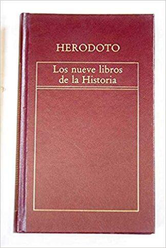 Portada LOS NUEVE LIBROS DE LA HISTORIA - HERÓDOTO - ORBIS