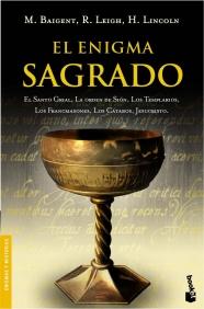 Portada EL ENIGMA SAGRADO - M. BAIGENT / R. LEIGH / H. LINCOLN - BOOKET