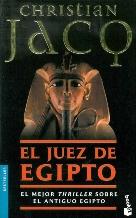 Portada EL JUEZ DE EGIPTO - CHRISTIAN JACQ - BOOKET