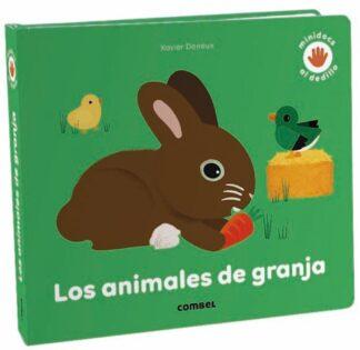 Portada LOS ANIMALES DE GRANJA - PASCALE HÉDELIN - COMBEL