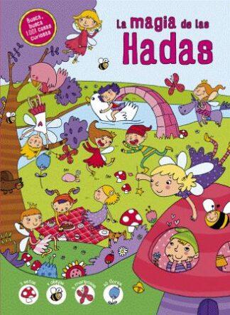 Portada MAGIA DE LAS HADAS (1001 COSAS CURIOSAS) - AA.VV. - LIBSA